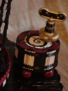 Vega Whimsical Musical Box for theSpring Chicken Girl